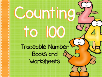 Counting to 100 Number Book and Worksheets