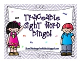 Traceable Sight Word BINGO