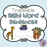 Traceable Sight Word Sentences - Freebie Edition