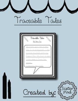 Traceable Tales - CVC, Sight Words, and easy-to-read stories