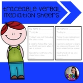 Traceable Verbal Mediation Essays