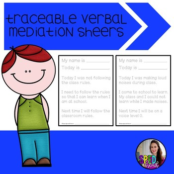 Traceable Verbal Mediation Essays: A Consequence to Challenging Behavior