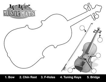 Traceable Violin (Letter Size)