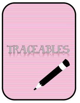 Traceables / Line Tracing / Preschool