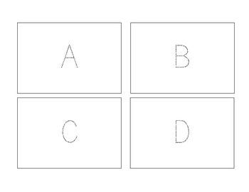 Tracer Cards - Alphabet