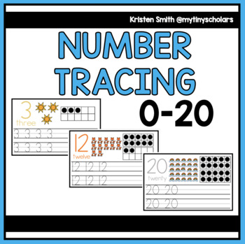 Tracing 0-20 Book