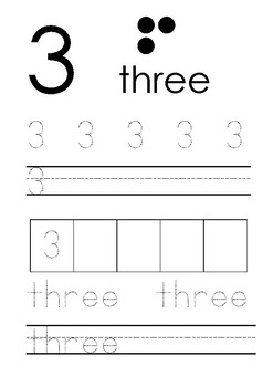 Tracing 1 to 10