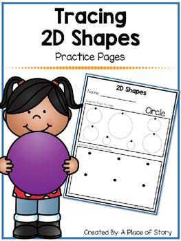 Tracing 2D Shapes