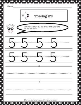 Tracing 5's