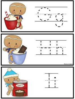 Tracing A-Z Little Gingy Cocoa  Dollar Deal