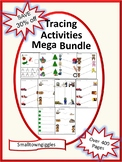 Tracing Lines for Preschool, Special Education Activities BUNDLE Early Childhood