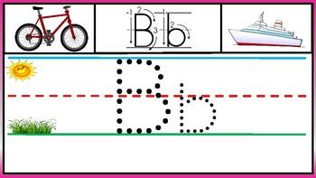 Tracing Alphabet Letters/ Trazando Letras del Alfabeto