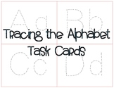 Tracing Alphabet Task Cards