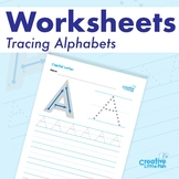 Alphabet Worksheets - Tracing Alphabets