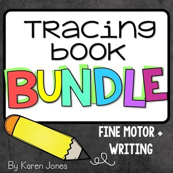 Tracing Book BUNDLE