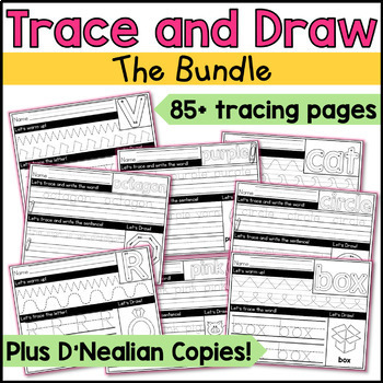 Tracing Bundle (Print and D'Nealian)