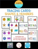 I Can Trace Book: Shapes & Numbers