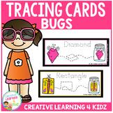 Tracing Cards Bug Set Fine Motor Skills
