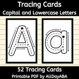 Tracing Cards - Capital and Lowercase Letters - Occupation