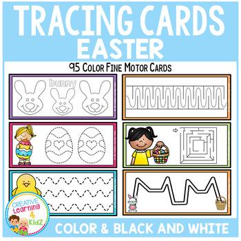 Tracing Cards Easter Set Fine Motor Skills