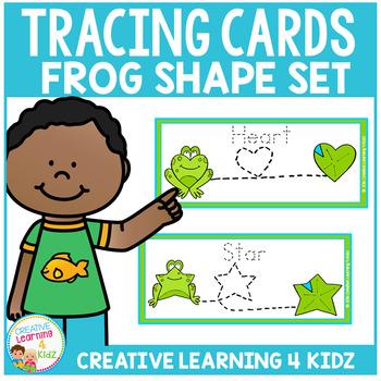 Tracing Cards Frog Set Fine Motor Skills