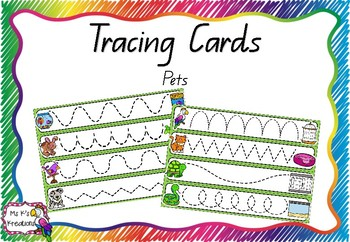 Tracing Cards - Pets