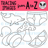 Tracing Clip Art - Traceable Pictures from A to Z
