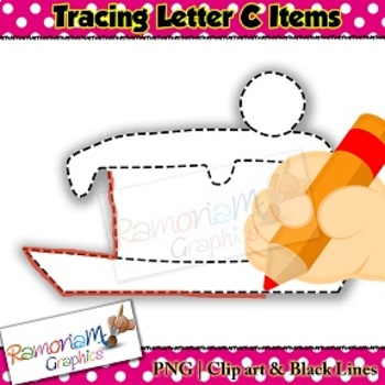 Tracing Clip art Letter C pictures