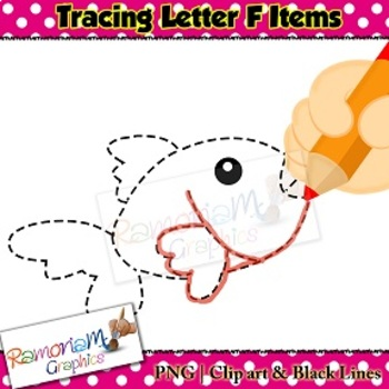 Tracing Clip art Letter F pictures