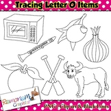 Tracing Clip art Letter O pictures