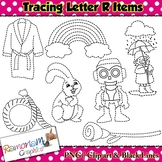 Tracing Clip art Letter R pictures