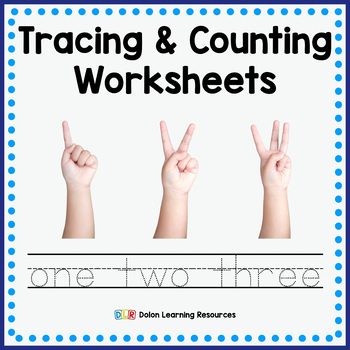Tracing and Counting Worksheets