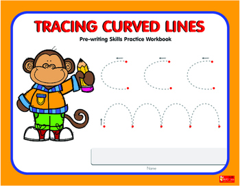 Tracing Curved Lines  Workbook