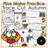Trace. Cut. Autumn Fine Motor Practice