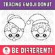 Tracing Emoji Donut Clipart