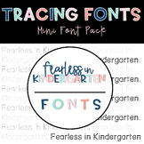 Tracing Fonts   Letter Formation