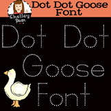 Tracing Handwriting Font - Dot Dot Goose Kit