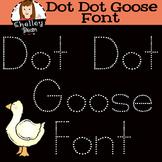 Tracing Handwriting Font - Dot Dot Goose Kit