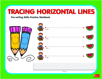 Tracing Horizontal Lines  Workbook