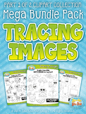 Tracing Images Clipart Mega Bundle Pack Part 1 {Zip-A-Dee-Doo-Dah Designs}