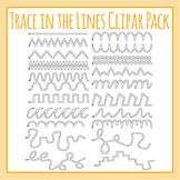 Tracing In The Lines for Fine Motor Control / Left to Right Progressiond