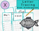 Lowercase Letters Tracing- Letter x Worksheets