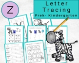 Lowercase Letters Tracing- Letter z Worksheets