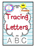 Freebie ABC Tracing Letters