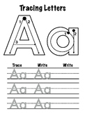 Tracing Letters