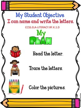 Tracing Letters and CVC Words BUNDLE