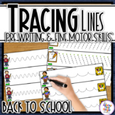 Back to School Tracing Lines, Path of Motion & Fine Motor
