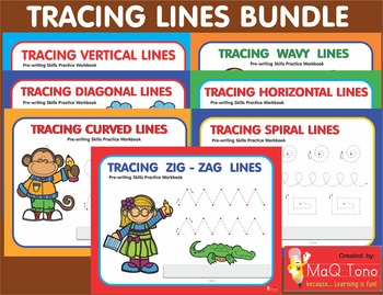 Tracing Lines Bundle Workbooks