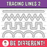 Tracing Lines Clipart 2