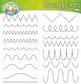 Tracing Lines Clipart Set {Zip-A-Dee-Doo-Dah Designs}
